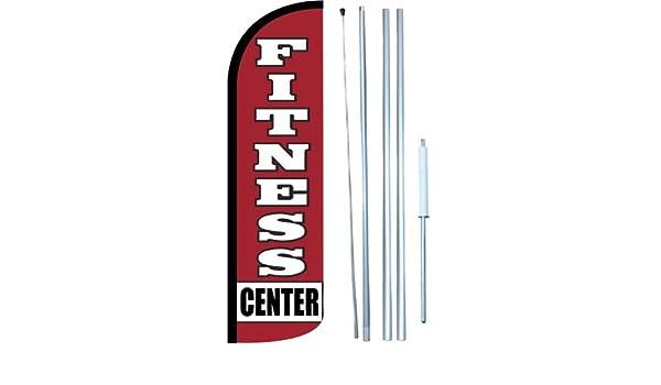 full sleeve flag Barber Shop Swooper Windless Flag Kit