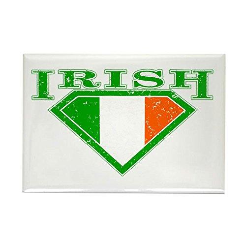 Rectangle Magnet Irish Superman Crest Luck of Irish