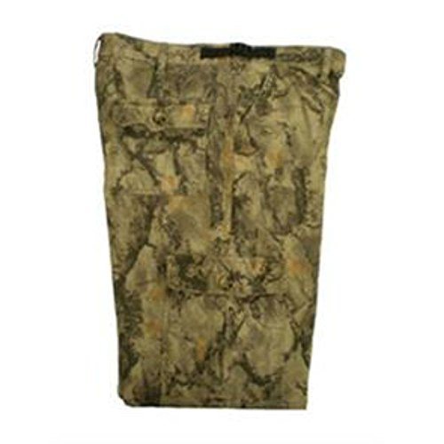 Six Pocket Hunting Pants - Natural Gear Camo Pants for Men and Women, Lightweight 6-Pocket Hunting Pants, Made with 100% Cotton Flannel Material (Large)