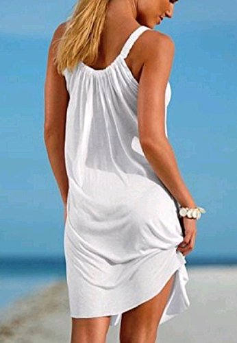 Line Pure Oversized A Sling Relaxed Dresses Coolred Women Colour Stylish Mini Beige Beach gwHaq