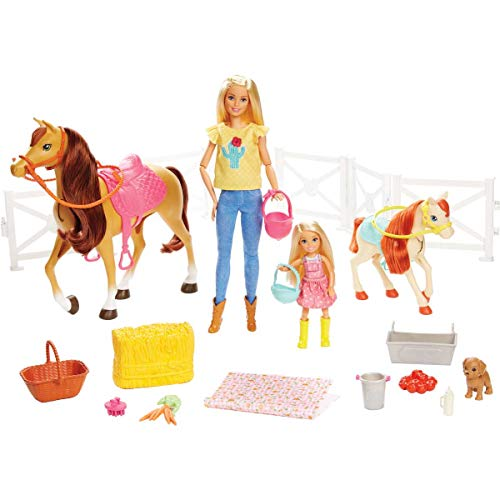 Barbie Hugs N Horses Playset is one of the new toys for girls for Christmas