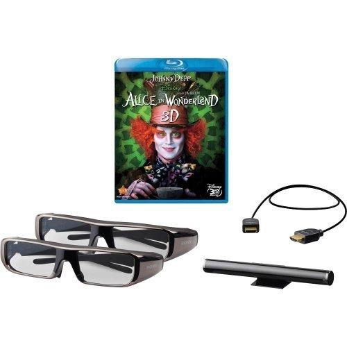 Sony 3DBNDL/ALICE 3D Deluxe Starter Kit, Black (Computer Sony Bravia)
