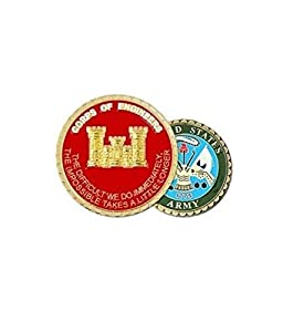 US Army Corps Of Engineer Castle Challenge Coin