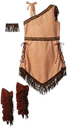 [California Costumes Native American Princess Child Costume,Brown,Small] (Pocahontas Costume Accessories)