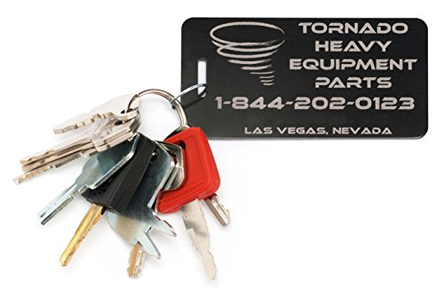 10 Keys Heavy Equipment / Construction Key