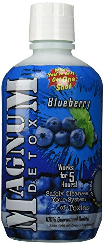 Magnum Detox 32oz 1 Hour Cleanser Blueberry Flavor