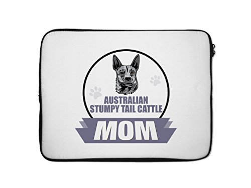 Style in Print AUSTRALIAN STUMPY TAIL CATTLE DOG MOM Lapt...