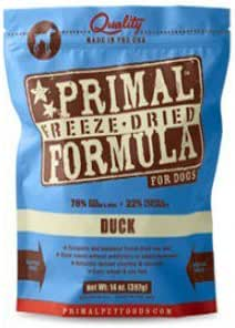 Primal Canine Duck Freeze Dried Formula 5.5 oz.