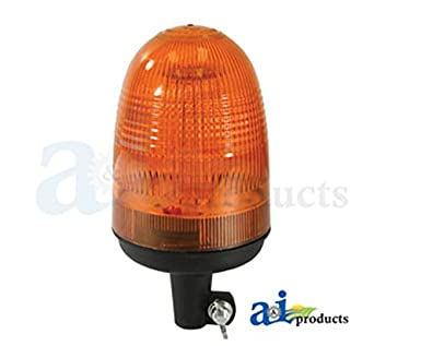 Bla9810 universal led rotating beacon light pipe mounted allows one beacon to be used