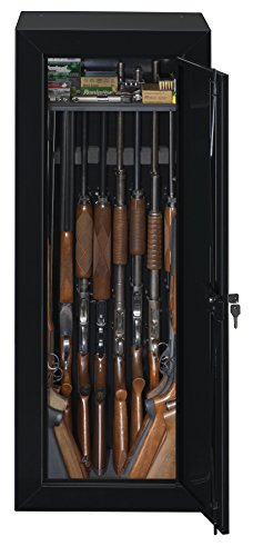 Stack On GCB 1522 Steel 22 Gun Security Gun Cabinet With Foam Barrel Rests,  Black     Amazon.com
