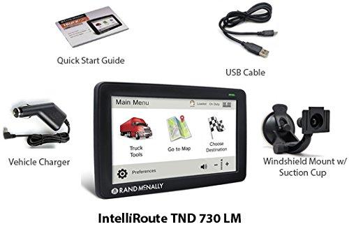 Rand McNally TND730 IntelliRoute GPS Truck Navigator - Certified Refurbished