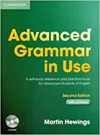 Advanced Grammar in Use With CD ROM by Martin Hewings 28-Apr-2005 ...