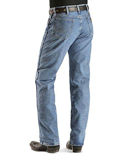 Wrangler Men's Cowboy Cut Original Fit Jean, Antique Wash, 32X32 (Antique Wash Jean)