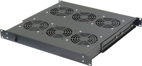 Norco SA-1841 Rack Cabinet Accessory 1U Unit w/4 AC Fans by NORCO