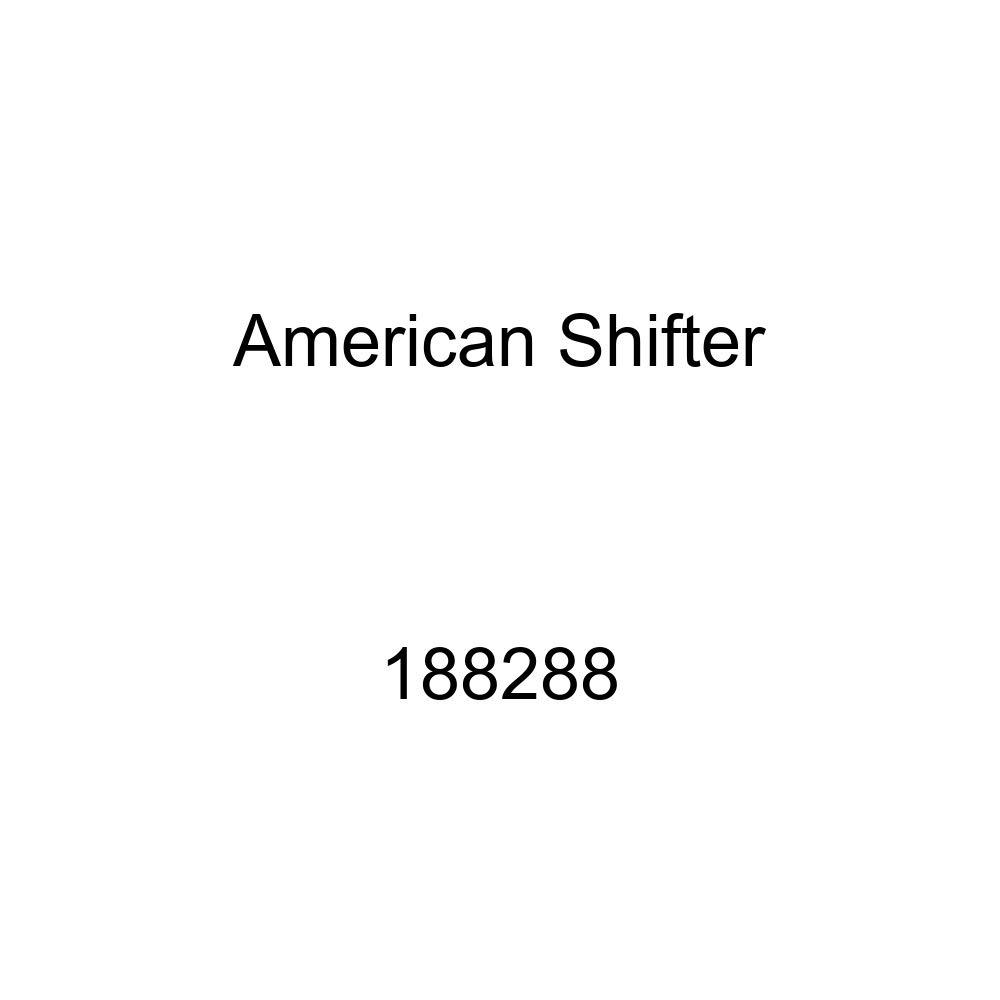 American Shifter 188288 Blue Retro Metal Flake Shift Knob with M16 x 1.5 Insert Red 4 Stars