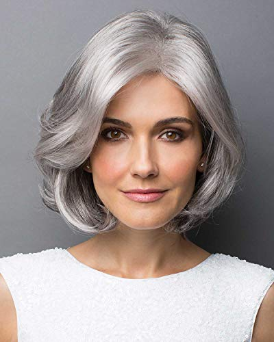 Amal Synthetic Wig By Rene Of Paris Silver Stone