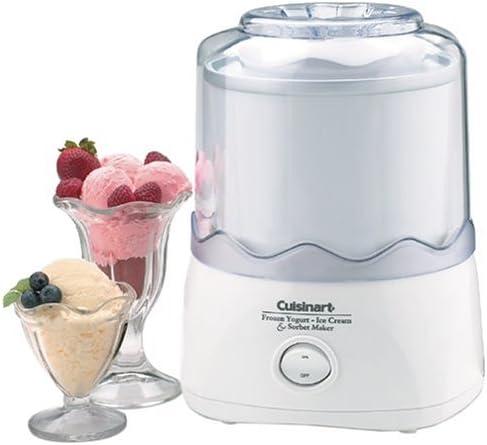 Cuisinart ICE-20 Automatic 1-1/2-Quart Ice Cream Maker