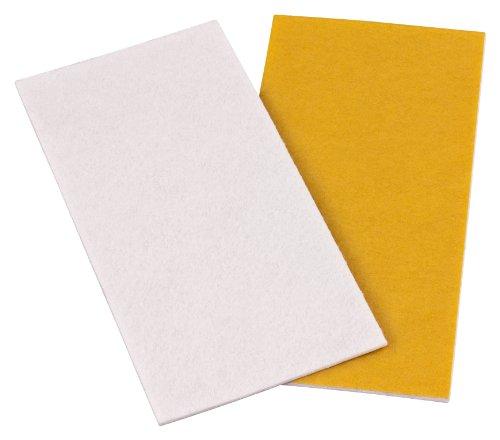 "New haggiy Adhesive Backed Felt - Felt Sheets, Self-Adhesive Felt Plates, 4"" x 7.9"" - 0.118"" thick (White) supplier"