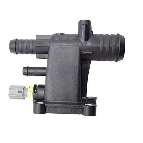 Ford Water Outlet - Engine Coolant Water Outlet for Ford Edge Escape Explorer Focus Fusion Taurus Lincoln MKC MKZ 2.0L 2.3L