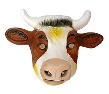 Máscara de Vaca - De PVC Grande
