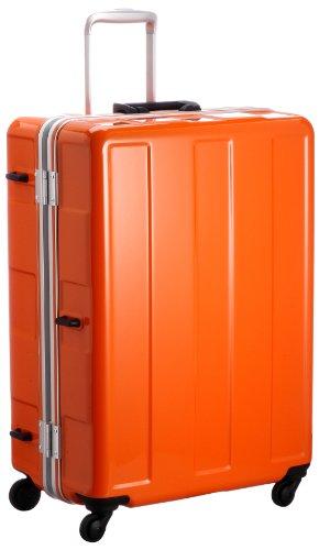 [プラスワン] PLUS ONE 超軽量! 《Booon》 5.0kg/96ℓ お預け手荷物MAXタイプ(総外寸157cm) HINOMOTO社製グリスパックキャスター採用 120-67 OR OR (オレンジ)