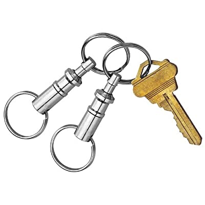 Custom Accessories 44101 Pull-Apart Key Chain, (Pack of 2): Automotive
