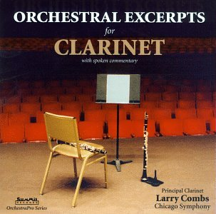 Larry Combs - Orchestral Excerpts for Clarinet (CD)