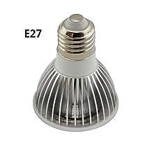 ZQ Mini light bulbs GU10 / E26/E27 5 W 1 COB 500LM LM Warm White / Cool White PAR20 Dimmable Par Lights AC 220-240 / AC 110-130 V , 110v-gu10