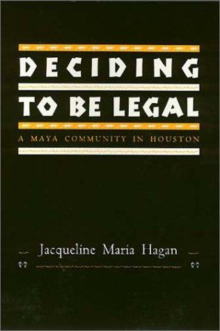 Deciding To Be Legal