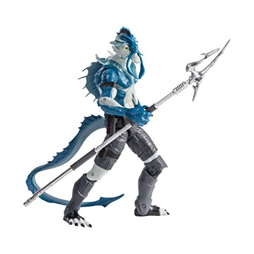 """Alter Nation El Ray Human Stingray Electric EEL Hybrid Web Cartoon Dark Horse Comics Graphic Novel Action Figure with """"Lightning Storm"""" Light up Feature & Mini Comic Book Great Gift for Kids 6 & Up"""