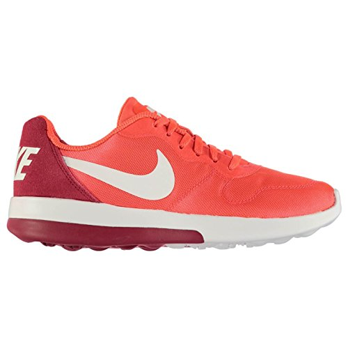 NIKE MD Runner Baskets pour femme Rouge/noir Chaussures Casual Sneakers fashion