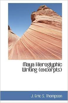 Book Maya Hieroglyphic Writing