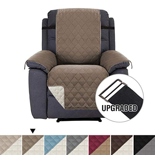 H.VERSAILTEX Recliner Chair Covers Recliner Slipcover Recliner Protector, Slipcovers for Recliner, Pet Cover for Recliner, Machine Washable Reversible and Quilted, 2