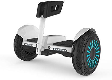 FYJ Hover Scooter Conseil gyropodes Scooter électrique Scooter de Tout Terrain Tout Terrain Segway'Built Bluetooth APP LED avec Moteur Puissant,Blanc