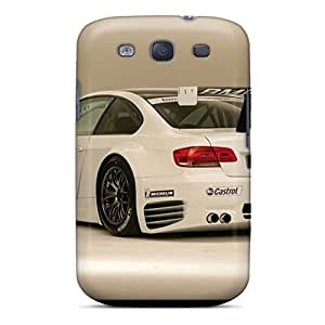Tpu Case Cover Compatible For Galaxy S3/ Hot Case/ Bmw M3 Alms Race Car Rear Angle