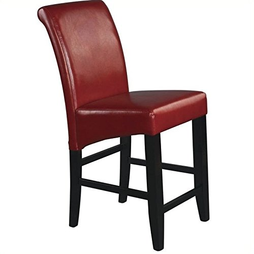 Office Star MET8624RD Metro Parsons Bar Stool by Office Star