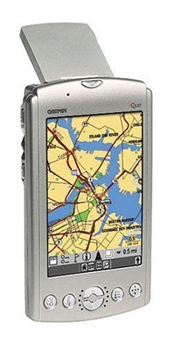 - Garmin iQue 3600 PDA/GPS Handheld System with Americas Detailed Street Mapping