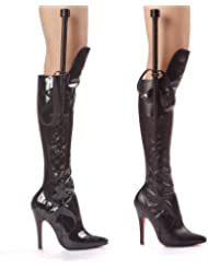 Ellie Shoes Womens 511-SADIE, 5 Heel Knee Boot With Whip