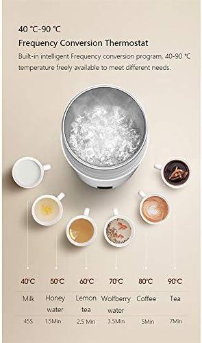XIANG Bollitore Elettrico, Bollitore Elettrico Portatile Termica della Tazza di caffè Viaggi Boiler Temperatura di Controllo Intelligente della Caldaia dell'Acqua