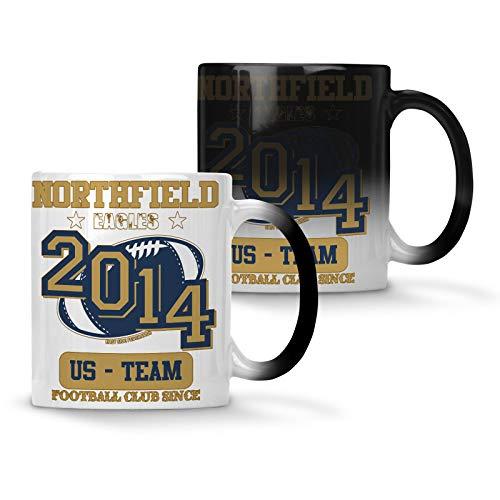 Northfield Eagles Footbal Club Since 2014 US Team Colour changing 11oz Mug x827w