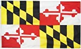 Cheap 3×5′ Maryland Heavy Weight Nylon Flag From All Star Flags