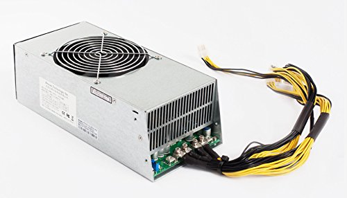 AntMiner Power Supply (APW5 Quiet 1300W@110v 2600W@205v w/ 14 Connectors) by Bitmain