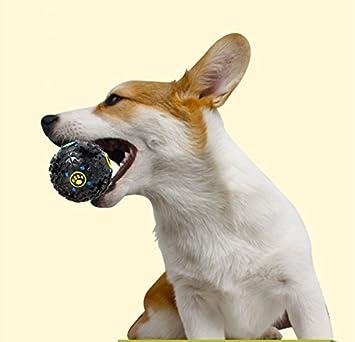 Xinanlongjb Mascotas Perro Juguete para Gatos Suministros para Mascotas Comida para Perros Patrón de Hueso de Bola Falta Comida Bola Diviértete Control de ...