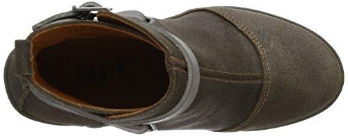 Art 392 - Botas de cuero mujer gris - Plumb