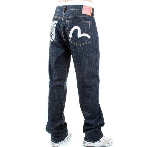 Édition limitée Evisu EA03HJE12 D881 grue EVIS8241 jeans