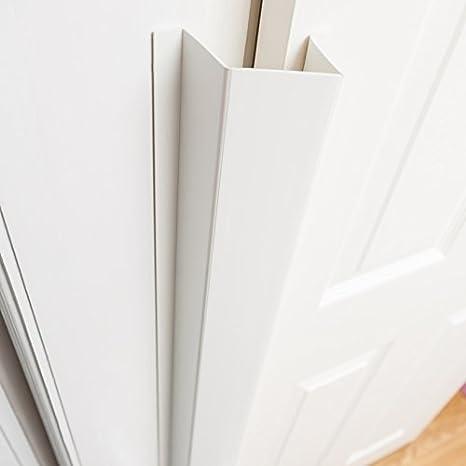 Cardea - Protector de bisagras para puerta de seguridad infantil, color blanco blanco blanco Talla:Paquete de 2