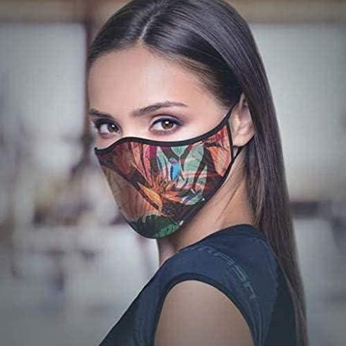 Sannysis chusta wielofunkcyjna z motywem trupiej czaszki, zabawna bandana, materiał nadaje się do prania, pyłoszczelna, wiatroszczelna, ochrona ust i nosa, dla kobiet i mężczyzn, kolor: L , rozmiar: w