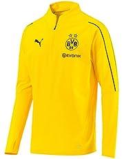 PUMA Heren Bvb 1/4 With Sponsor Logo T-shirt