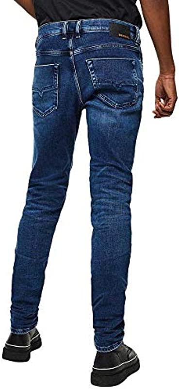 Diesel Mens Tepphar-X L.32 Jeans, 01 Blue Denim, 28: Odzież