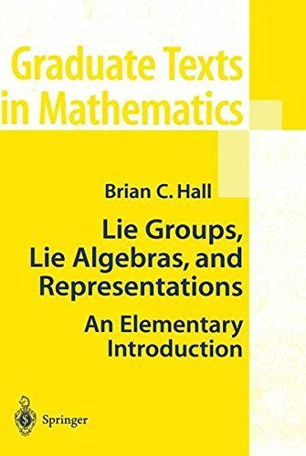 Lie Groups Lie Algebras And Representations  An Elementary Introduction  Graduate Texts In Mathematics  222
